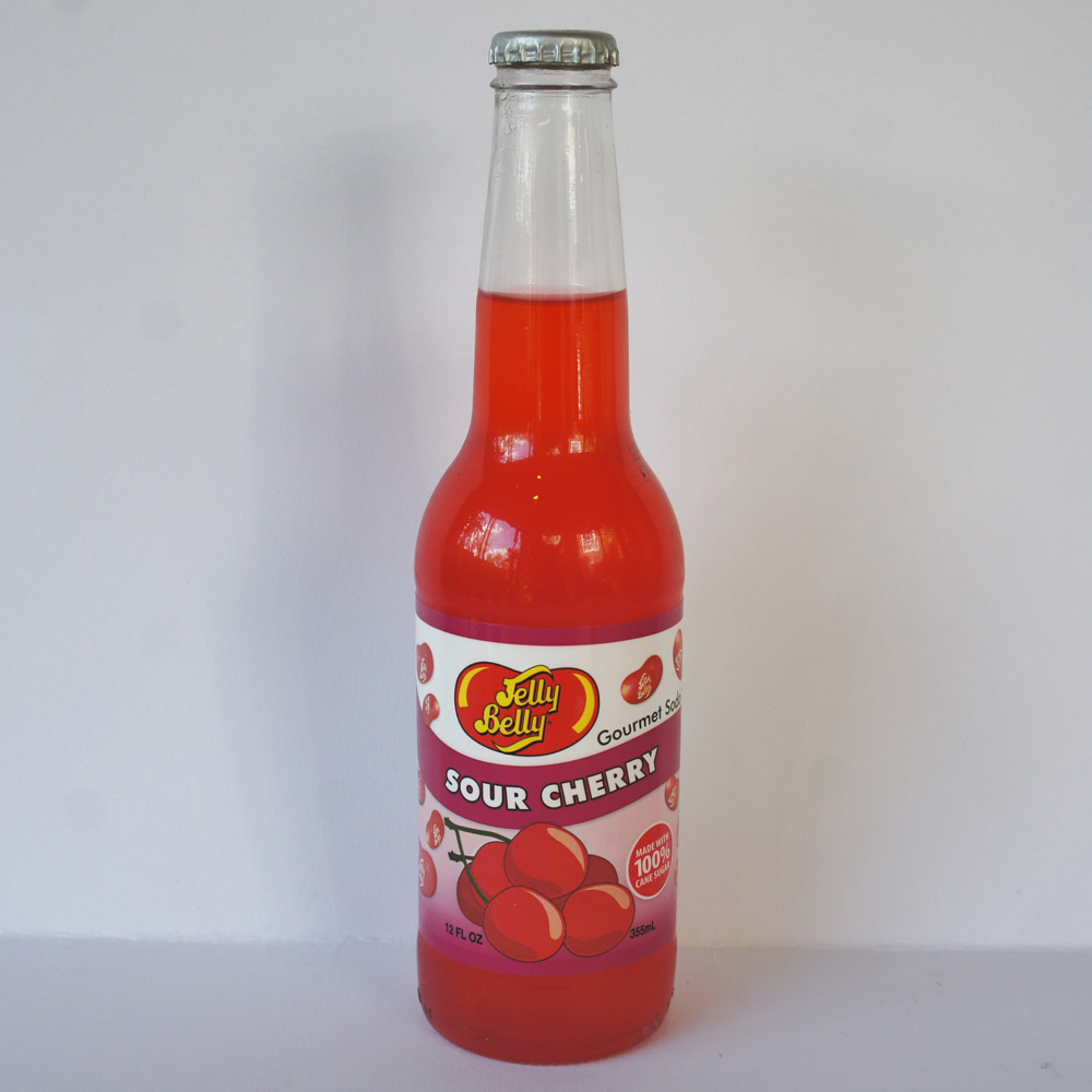 sour cherry gourmet soda