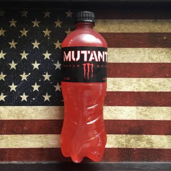 Monster Mutant Super Soda Red Dawn (591ml) From Auntie Ammies Candy Store