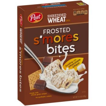 Post Shredded Wheat Frosted S'mores Bites 439g From Auntie Ammie Candy Shop