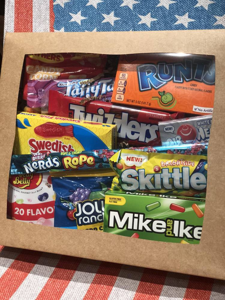 Candy Crazy Gift Box From Auntie ammies Candy shop