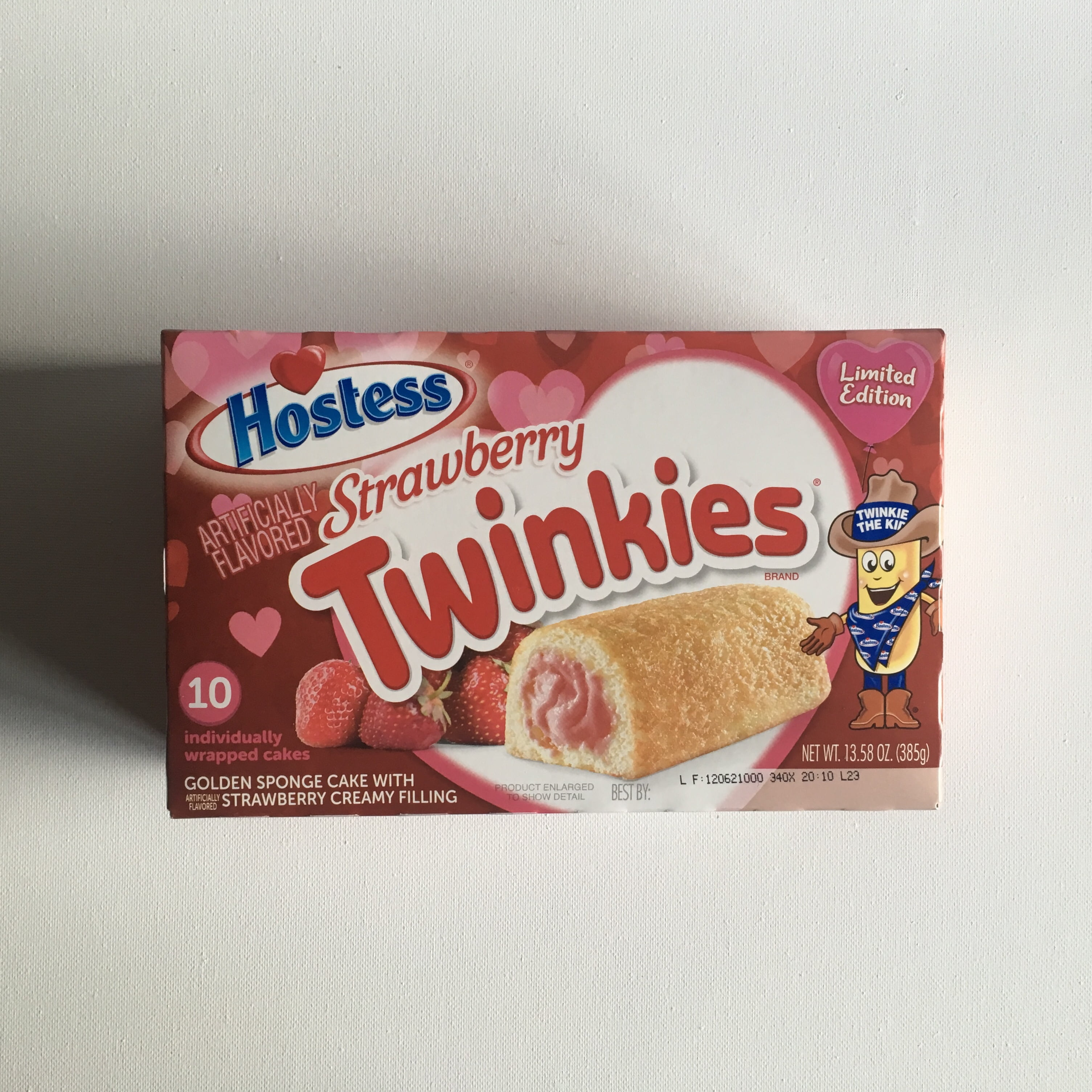 Hostess Valentines Twinkies Strawberry (10 pack) from Auntie Ammies candy shop