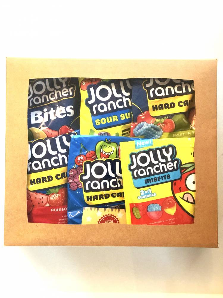 Jolly Rancher Gift Box From Auntie Ammies Candy Shop