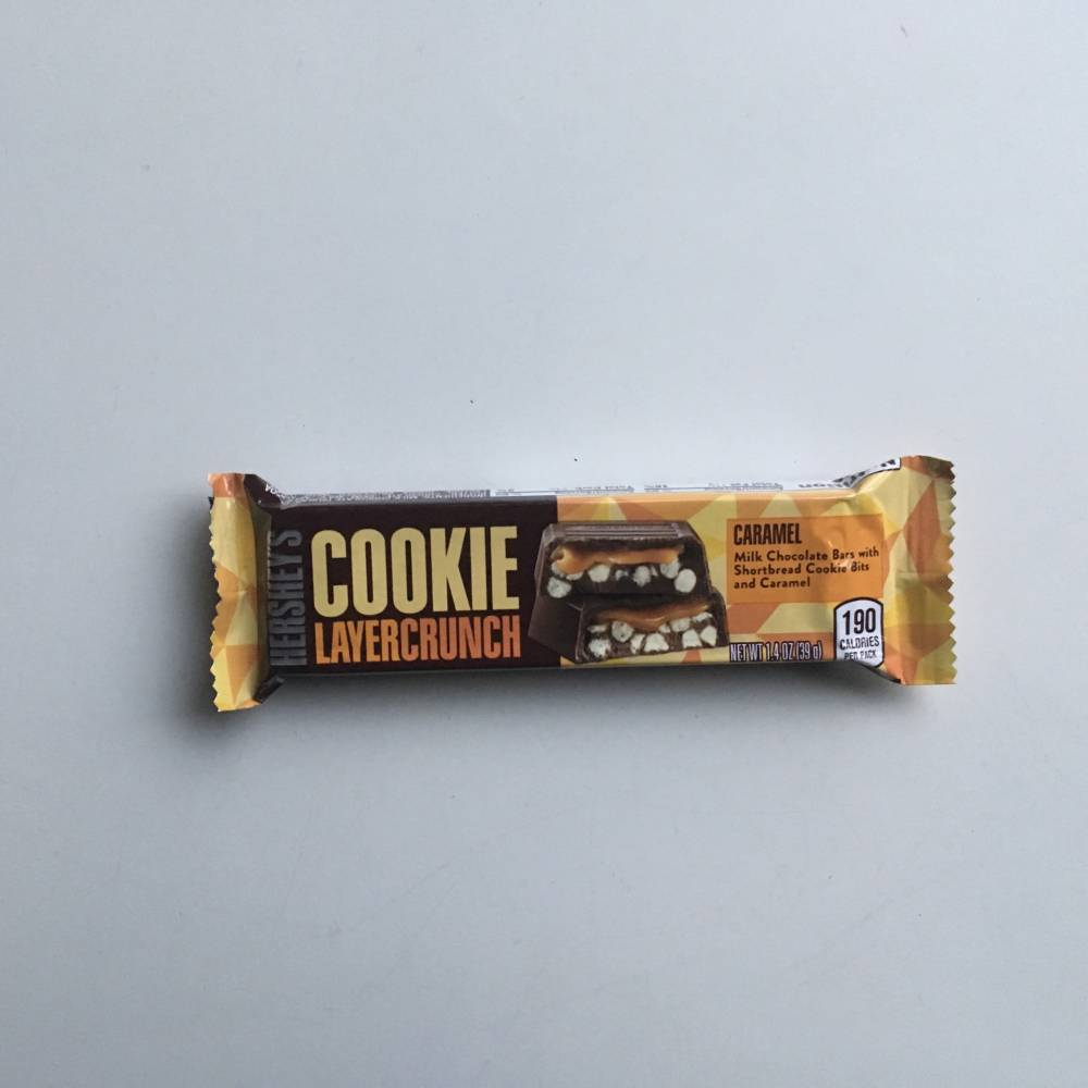 Hersheys Cookie Layer Crunch Caramel (39g) From Auntie Ammie Candy Shop