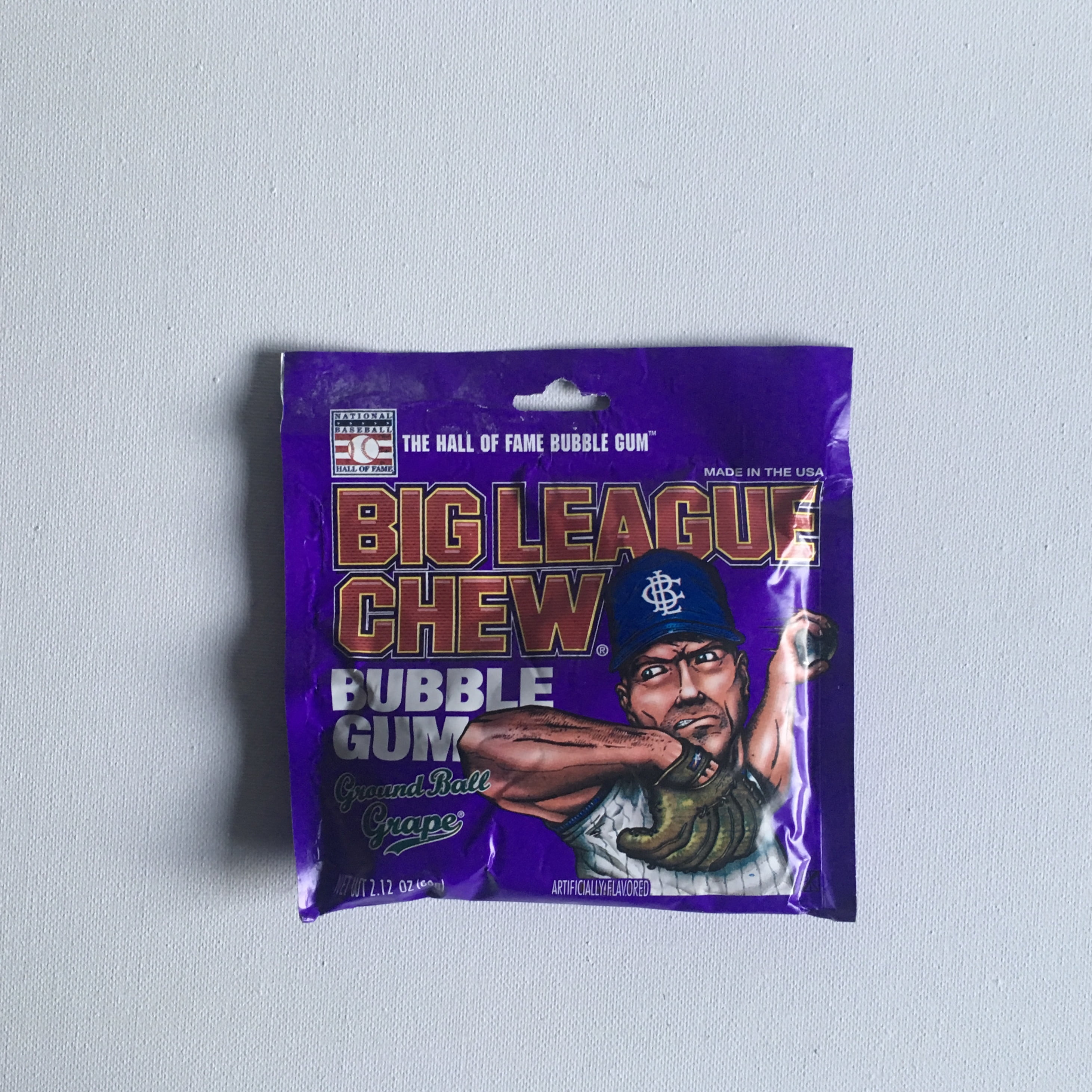 Big League Chew Bubble Gum Grape 12 Pack from Auntie Ammies Candy Shop