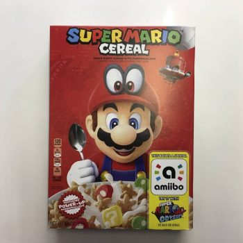 Kellogs Super Mario Cereal (238g) From Auntie Ammies Candy Shop