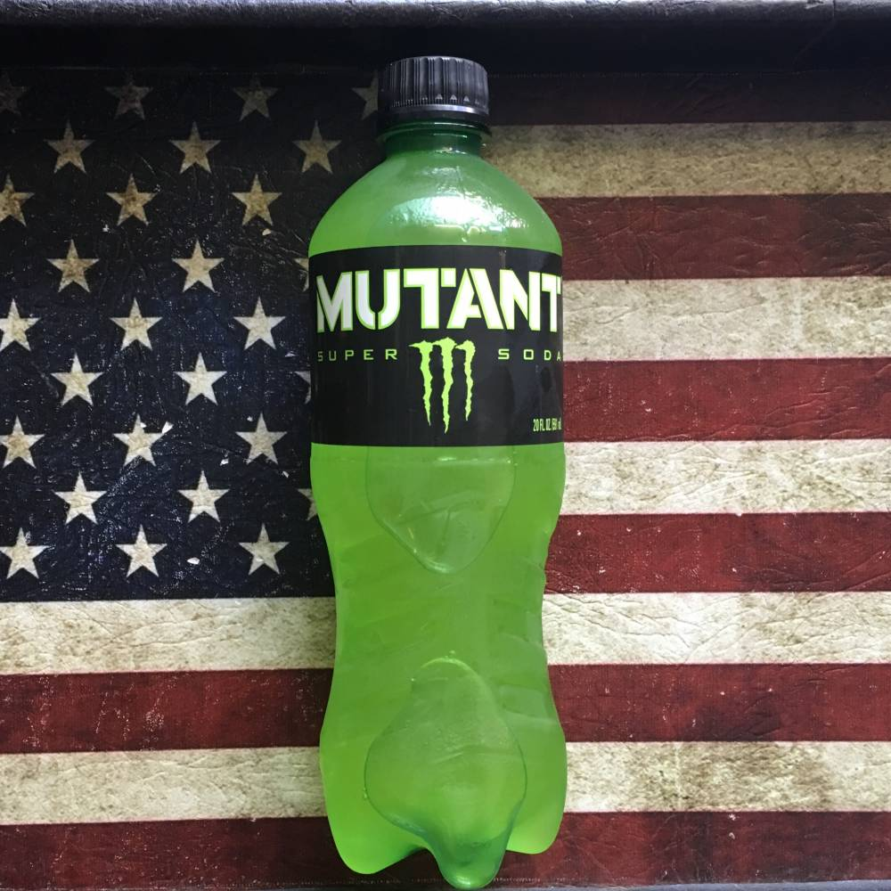 Monster Mutant Super Soda Green (591ml) From Auntie Ammies Candy Store