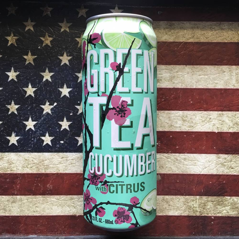 Arizona Green Tea Cucumber with Citrus (680ml) From Auntie Ammies Candy  store 4bec1653215