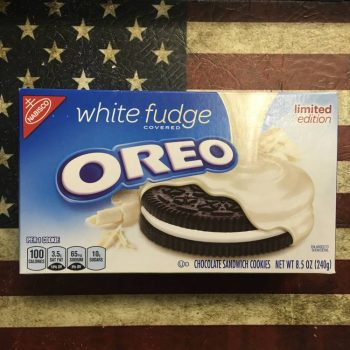 White Fudge Oreos (240g) From Auntie Ammies Candy Store