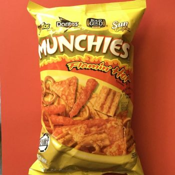 Munchies Flamin' Hot Snackmix 262g From Auntie Ammie Candy Shop