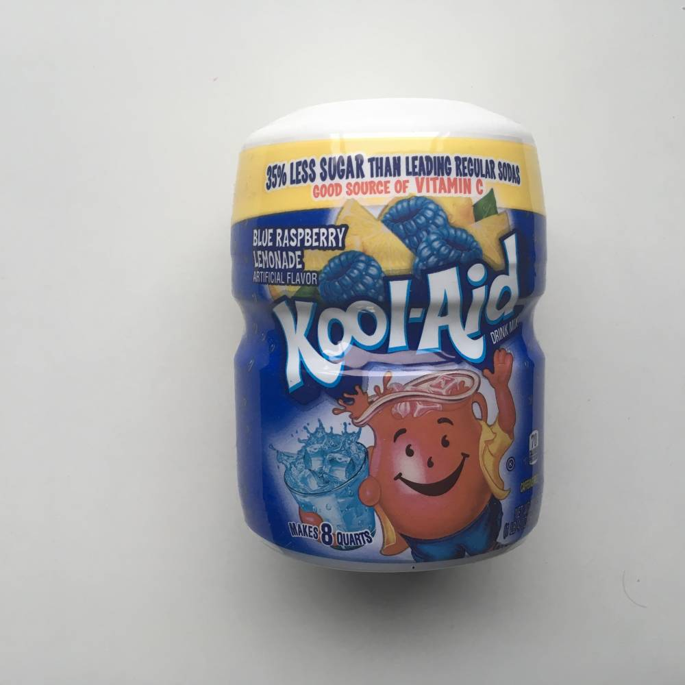 Kool-Aid Blue Raspberry Lemonade Tub
