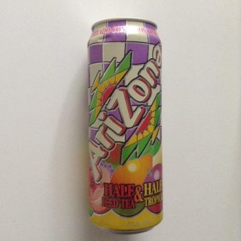 Arizona Half Iced Tea & Half Tropical American soda UK