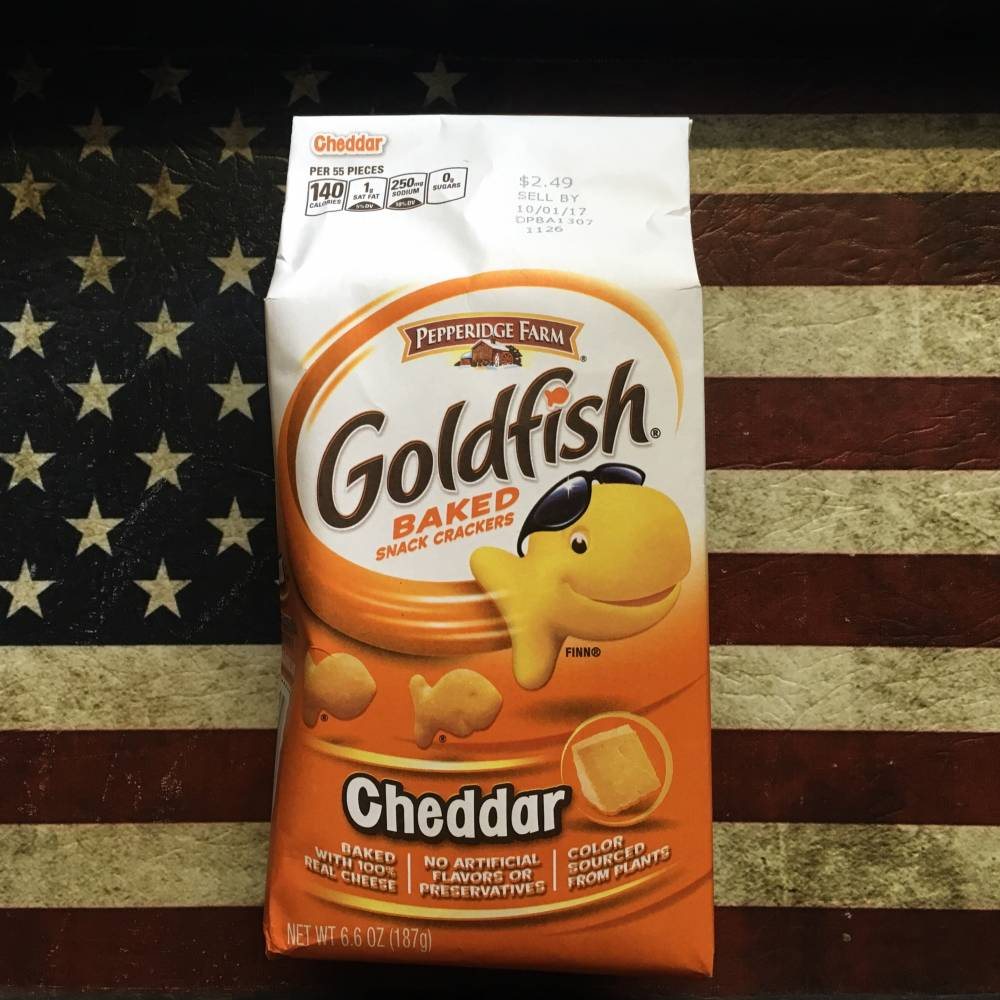 Pepperidge Farm Goldfish Cheese flavour From Auntie Ammies Candy Shop
