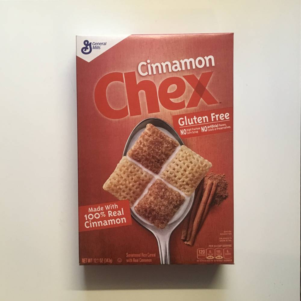 Cinnamon Chex Cereal (343g) From Auntie Ammies Candy Shop