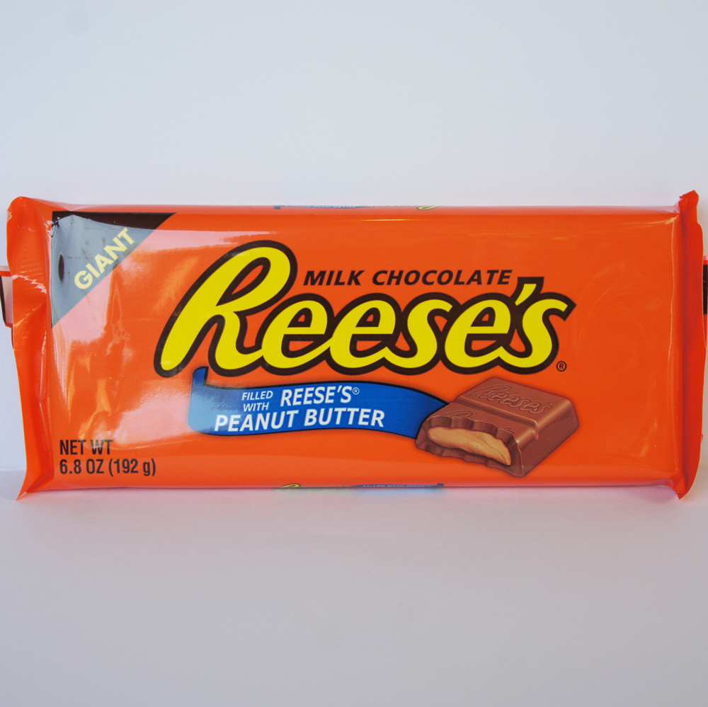 Reese's Giant Milk Chocolate Bar American sweets from Auntie Ammie's Candy Shop UK