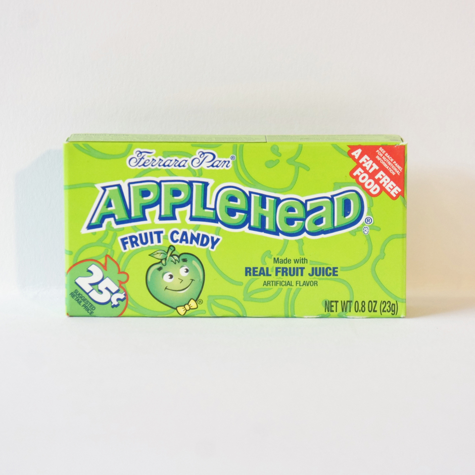 applehead hard candy American sweets from Auntie Ammie's Candy Shop