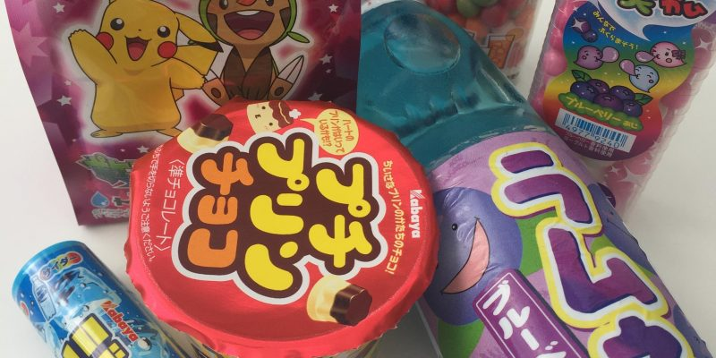 Japanese soda and Candy