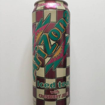 Arizona Iced Tea with Cranberry Juice from Auntie Ammie's American Candy Shop UK