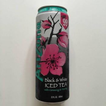 Arizona Black and White iced Tea from Auntie Ammie's American Candy Shop UK