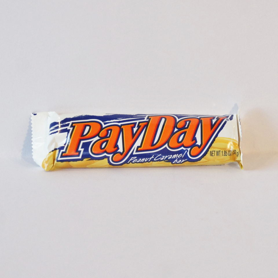 pay day bar american nutty bar American sweets from Auntie Ammie's Candy Shop
