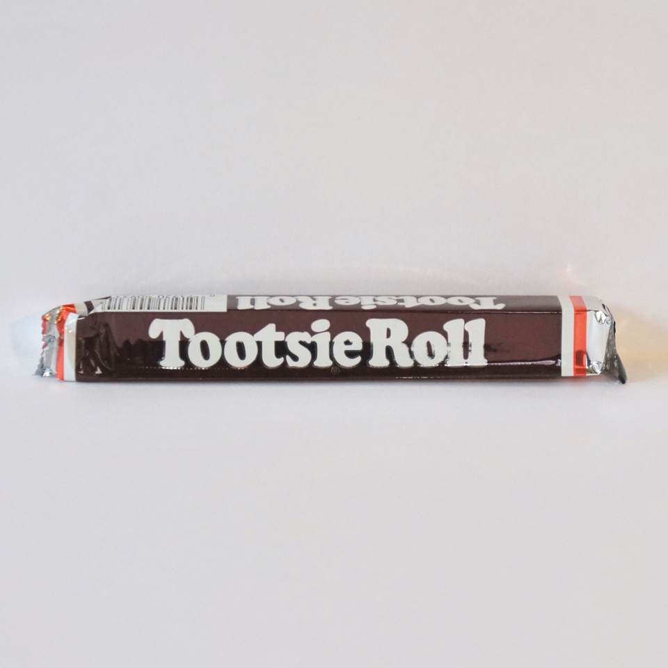 chocolate tootsie roll chew bar American sweets from Auntie Ammie's Candy Shop